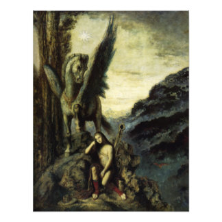 The Traveler Poet by Gustave Moreau Photo
