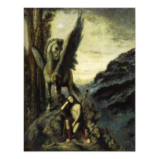 The Traveler Poet by Gustave Moreau Photo Print