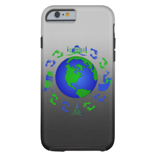 The Traveling Feet Design Tough iPhone 6 Case