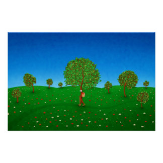 The Traveling Tree Print