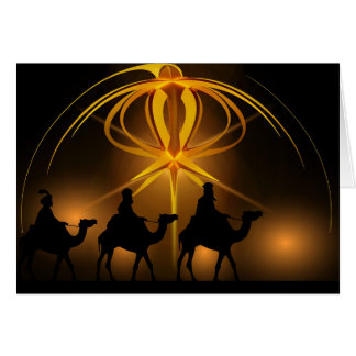 The Traveling Wise Men Card