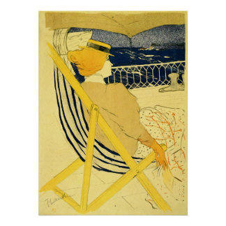 The traveller 2 by Toulouse-Lautrec Poster