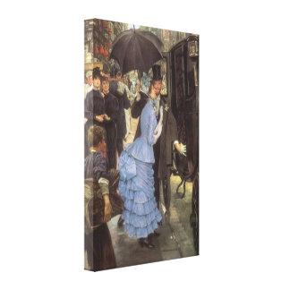 The Traveller (aka Bridesmaid) by James Tissot Canvas Print