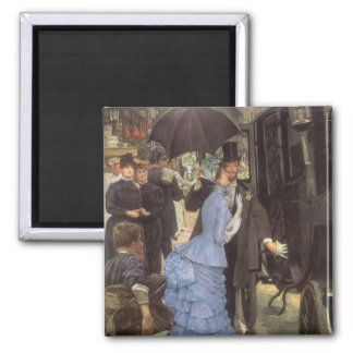 The Traveller (aka Bridesmaid) by James Tissot Magnet
