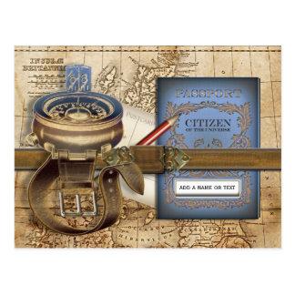 The Traveller Postcard
