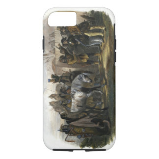 The Travellers Meeting with Minatarre Indians near iPhone 8/7 Case