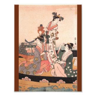 The Treasure Boat (triptych; center) Photo Print