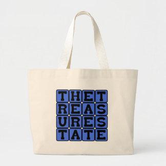The Treasure State Montana Nickname Tote Bag