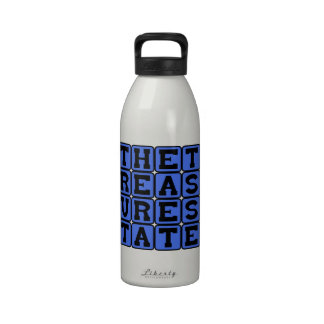 The Treasure State, Montana Nickname Drinking Bottle