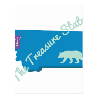 The Treasure State Postcard