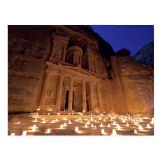 The treasure tonight, Petra Postcard