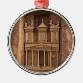The Treasury of Petra, Jordan Christmas Ornament