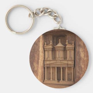 The Treasury of Petra, Jordan Key Ring