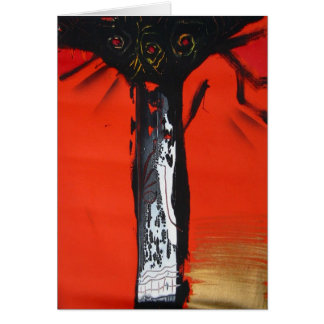 THE TREE 2 GREETING CARD