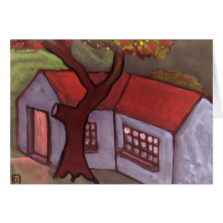 THE TREE AND COTTAGE CARDS