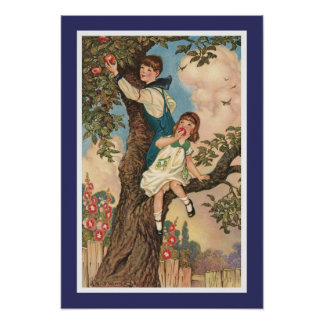 The Tree Climbers Poster