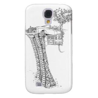 The Tree House Rolls On Tracks™ 1 Samsung Galaxy S4 Case