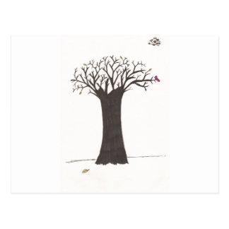 The Tree In Fall Postcard