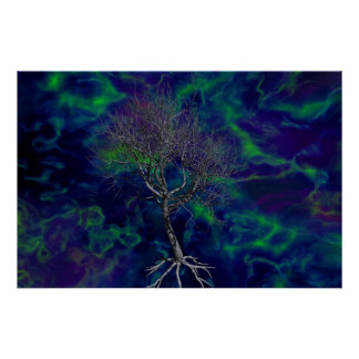 The Tree of Cosmic Significance Poster