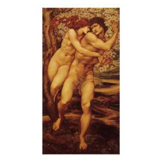 The Tree of Forgiveness by Burne Jones Poster