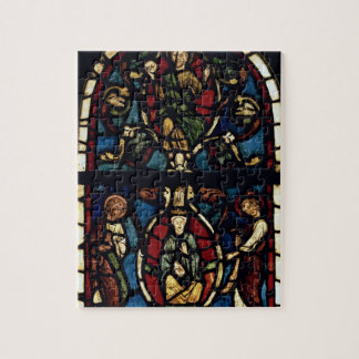 The Tree of Jesse, 13th century (stained glass) Jigsaw Puzzle