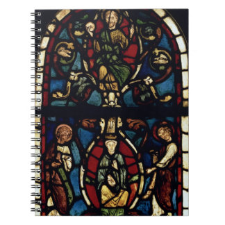 The Tree of Jesse, 13th century (stained glass) Notebook