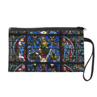 The Tree of Jesse, lancet window in the west facad Wristlet