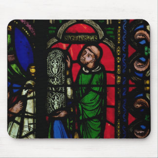 The Tree of Jesse Window Mouse Pad
