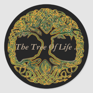 The Tree Of Life Classic Round Sticker