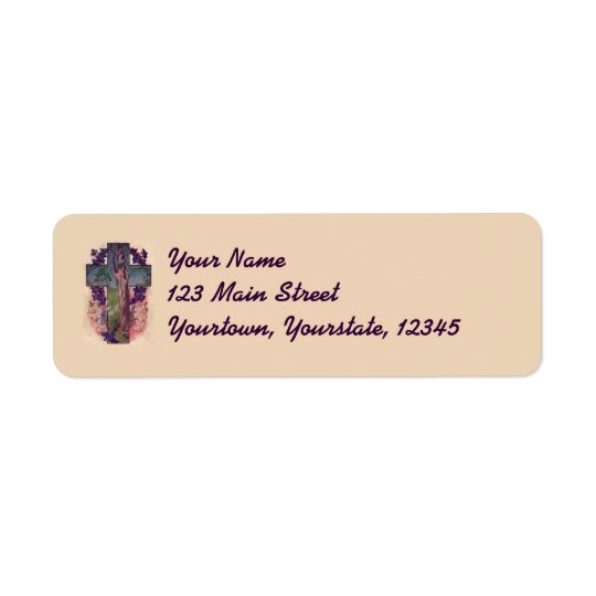 The Tree Of Life Cross Christian Address Labels