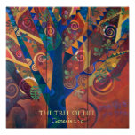 THE TREE OF LIFE, Genesis 2 : 9 Poster