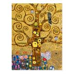""""""" The Tree of Life """" , Gustav Klimt Postcard"""