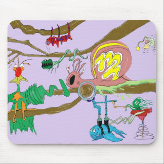 The Tree of Life of Freds Mouse Mat