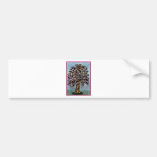 The tree of Owls Bumper Sticker