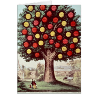 The Tree of Temperance, 1872 Card