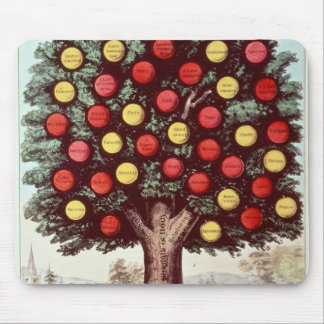 The Tree of Temperance, 1872 Mouse Pad