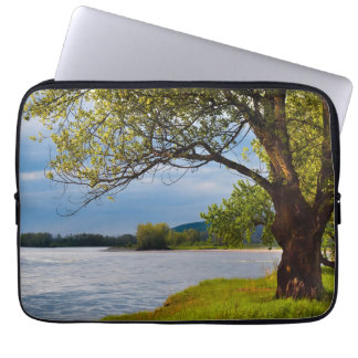 The Tree On The Bank Laptop Sleeve