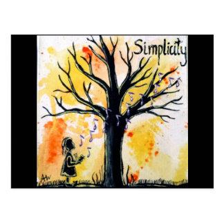 The Tree Series: Simplicity Postcard
