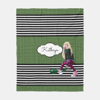 The Trendy Girl Fleece Blanket