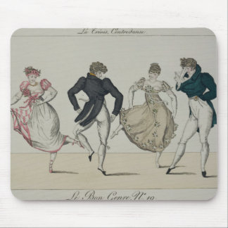 The 'Trenis' Quadrille, plate 19 from 'Le Bon Genr Mouse Mat