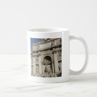 The Trevi Fountain Basic White Mug