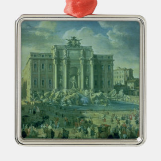 The Trevi Fountain in Rome, 1753-56 Christmas Ornament