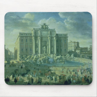 The Trevi Fountain in Rome, 1753-56 Mouse Mat