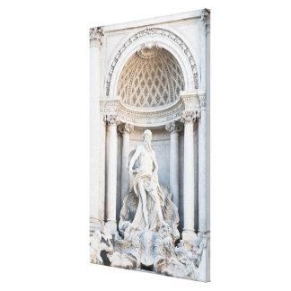 The Trevi Fountain (Italian: Fontana di Trevi) 3 Canvas Print
