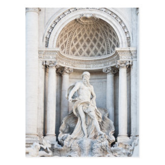 The Trevi Fountain (Italian: Fontana di Trevi) 3 Postcard