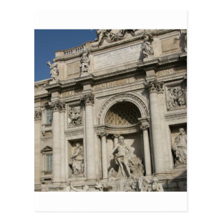 The Trevi Fountain Postcard