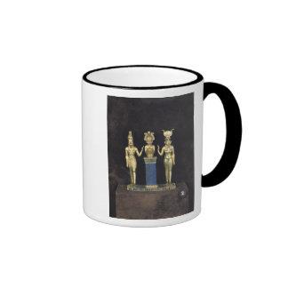 The Triad of Osorkon II, reign of Osorkon II Ringer Mug