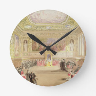 The Trial, Act IV, Scene I from Charles Kean's pro Round Clock