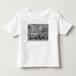 The Trial at the Old Bailey, plate 5 of 'The Drunk Toddler T-Shirt