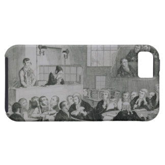The Trial at the Old Bailey, plate 5 of 'The Drunk Tough iPhone 5 Case